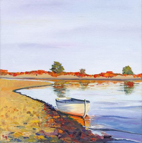 Boat On Estuary